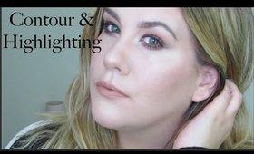 How I Contour & Highlight | Brittany Adam