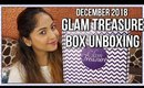 GLAM TREASURE BOX December 2018 | Unboxing & Review | Stacey Castanha