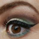 Mint eyemakeup