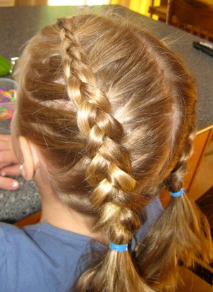 Inside-Out French Braid