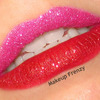 Pink and Red Duo Glitter Lips!