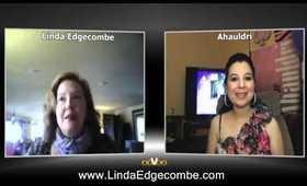 Linda Edgecombe Interviews On The Ahauldri Show