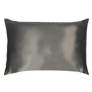 Queen/Standard Silk Pillowcase Charcoal