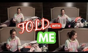 CLEAN WITH ME | FOLD CLOTHES WITH ME + LAUNDRY CHIT CHAT | CLEANING MOTIVATION