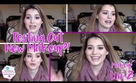 TESTING OUT NEW MAKEUP & BEAUTY PRODUCTS! ♡ Juvias Place, Marc Jacobs, Clinique & More!