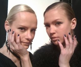 New York Fashion Week, Fall 2011: CND at Sachin & Babi