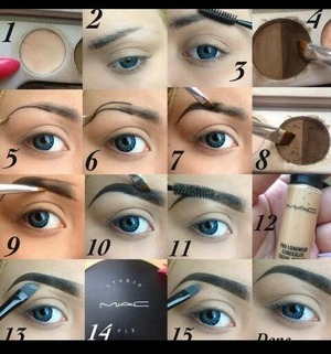 Here is how I Do my eyebrows. hope it helps someone