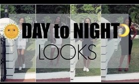 DAY TO NIGHT LOOKS | Little Black/White Dress