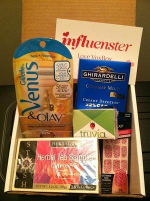 My Love Vox Box from Influenster!