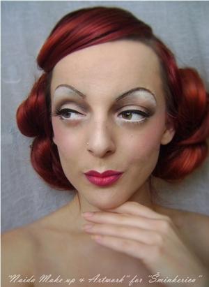 History of make up - 1930's // Tutorial: http://www.sminkerica.com/tutoriali/povijest-sminkanja-1930-e/