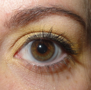 Yellow Summer Makeup of the Day