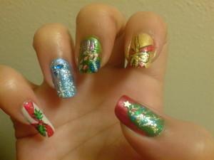 Christmas Nails 2011