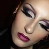Sultry sexy dramatic cut crease smokey eye makeup look / Bridezilla make-up tutorial / Gothic dark