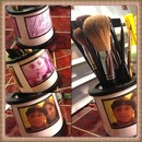 DIY brush holder :)
