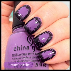 Explosive frame- china glaze - spontaneous