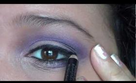How to Wear Purple Eyeshadow Naturally