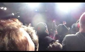 AFI at Paradise Rock Club, Boston The Blood Tour 2/4/2017 Singing Happy Birthday to Fritch!
