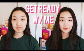 Chit Chat GRWM w/ New Korean Products! ft. etestore & bbcosmetic