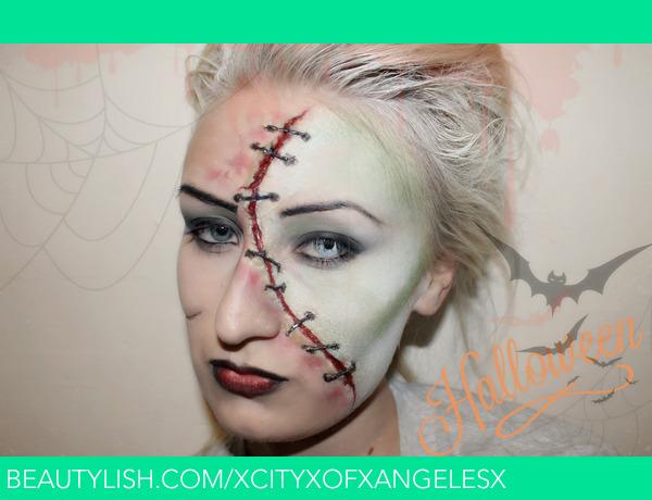 frankenstein inspired halloween makeup ideas kelly ws xcityxofxangelesx photo beautylish