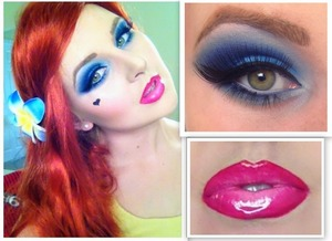 I will post Step by Step tutorial to this look tomorrow on my blog http://klaudiamayer.blogspot.com.