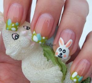 http://www.beautybysuzi.blogspot.sk/2013/03/easter-bunny.html ♥ http://www.youtube.com/RK4ql4oAWeQ