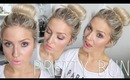Messy 'Sock' Bun! ♡ Pretty Bun Tutorial! & Giveaway!