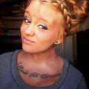 hair bow braided bangs ??