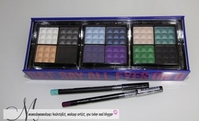 GIVEAWAY TIME! eye shadows and liners