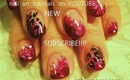 Animal Print on Fuschia Fantasy Pink Foil: robin moses nail art design tutorial FNORD 430