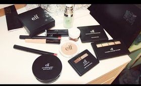 Elf Cosmetics: Haul + First Impression
