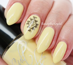 """Cult Nails New Day from the """"It's a New Day"""" trio. http://www.beautybykrystal.com/2014/06/cult-nails-its-new-day-spring-radiance.html"""
