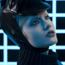Tron Beauty for On Makeup Magazine