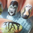 Maleficent Nail Art