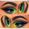 Black, Green, Blue