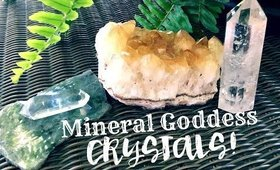 All About Mineral Goddess Crystals