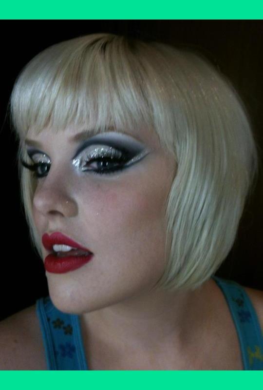 Glittery Burlesque Show Night Makeup Jenn M S