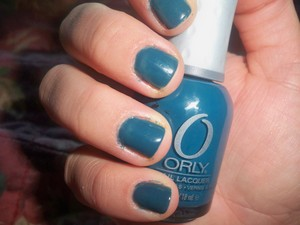 Orly 'Sapphire Silk' Two Coats