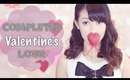 ♥ What He Loves: {Completed Valentine's Look} Nails, Makeup, Hair & Outfit