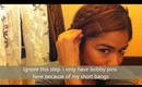 hair tutorial-crown braid