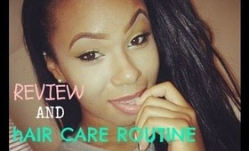 ♡ Review and Hair Care Routine ♡