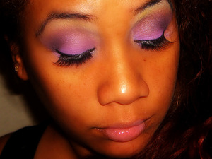 Bright Pink/Purple Valentine's day look - using my 88 Palette from BH cosmetics.