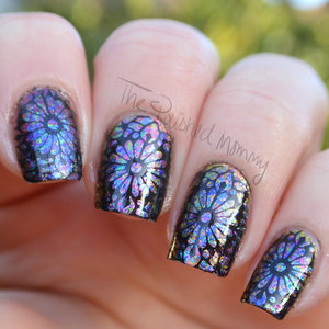 http://www.thepolishedmommy.com/2015/02/psychedelic-stained-glass.html