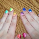 Look! It's a Rainbow! Nails
