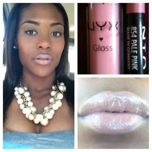 NYX Lipgloss and liner