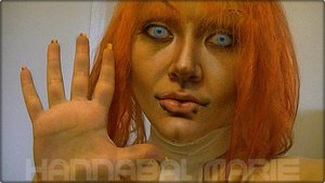 Just wanted to say hi and show off my Leeloo locks.