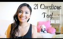 21 Questions Tag & Get To Know Me | missilenejoy
