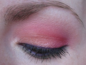 Tropical look using ELF's Little Black Beauty Book - Warm Collection.