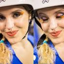 Rat City Roller Make-up