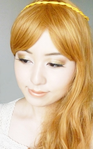 Greek goddess inspired makeup