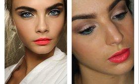 Cara Delevingne Inspired Spring/Summer Makeup Tutorial ♥